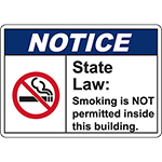 NOTICE State Law: Sign