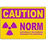 CAUTION NORM Sign