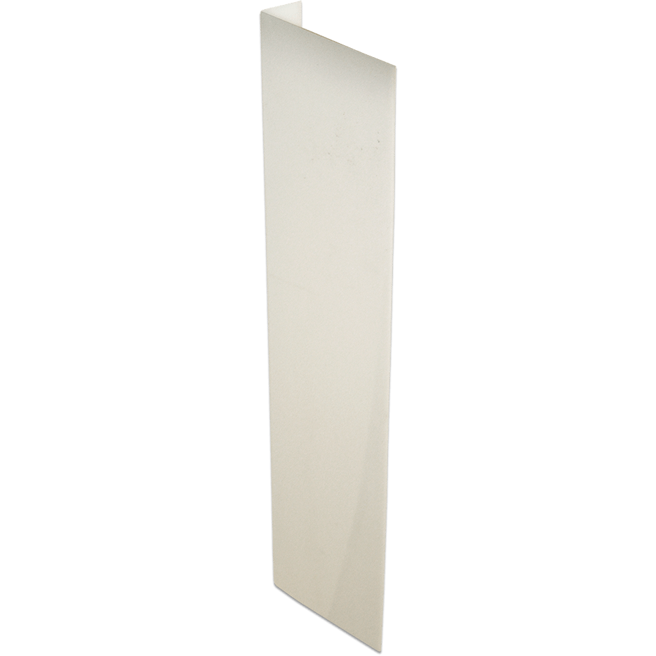 "2-Way Plastic Sign Blanks (4"" x 18"")"