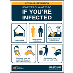 IF YOU'RE INFECTED POSTER