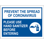 Prevent The Spread of Coronavirus Poster