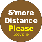 S'more Distance Please Label