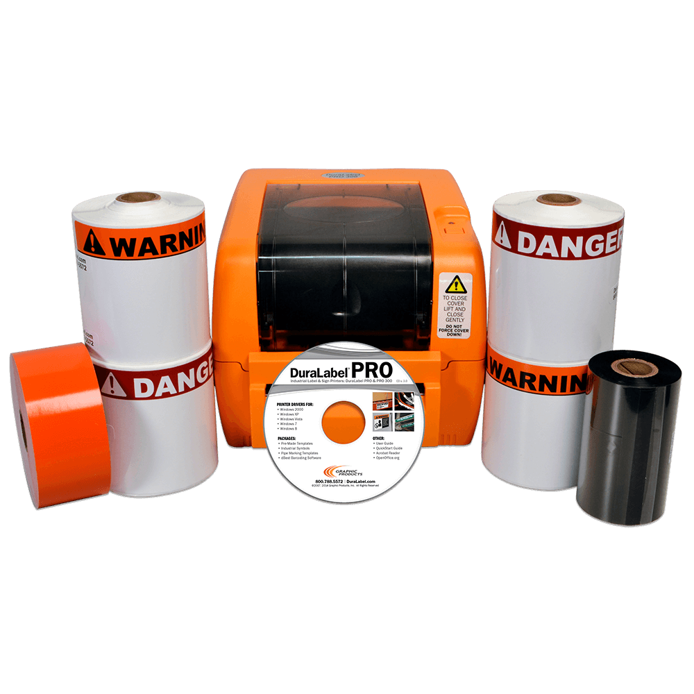 DuraLabel PRO 300 Standard Outdoor Arc Flash Kit