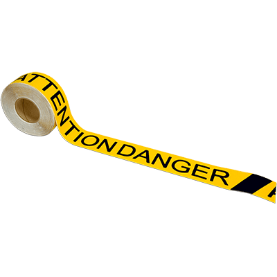 Tread Attention Danger Tape