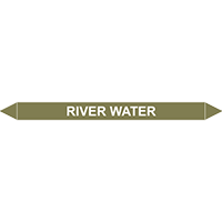 RIVER WATER European Pipe Marker