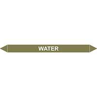 WATER European Pipe Marker