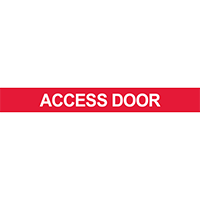 Access Door Pipe Marker