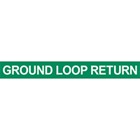 Ground Loop Return Pipe Marker