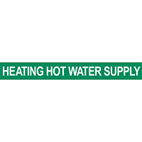 Heating Hot Water Supply Pipe Marker for Water