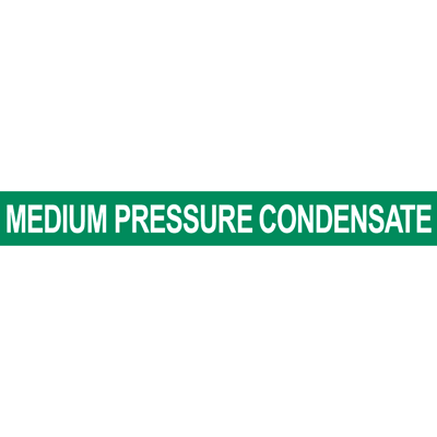 Medium Pressure Condensate Pipe Marker