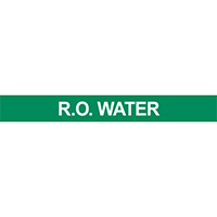 R.O. Water Pipe Marker