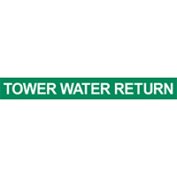 Tower Water Return  Pipe Marker