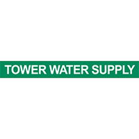 Tower Water Supply Pipe Marker