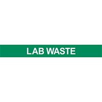 Lab Waste Pipe Marker for Water