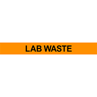 Lab Waste Pipe Marker