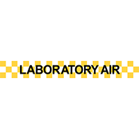 Laboratory Air Pipe Marker
