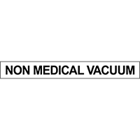 Non Medical Vacuum Pipe Marker