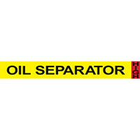 OIL SEPARATOR Ammonia Component Pipe Markers