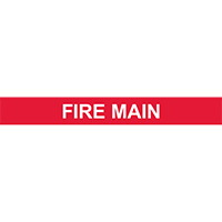 FIRE MAIN PIPE MARKER
