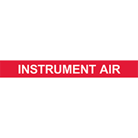 INSTRUMENT AIR PIPE MARKER
