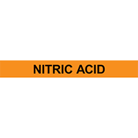 NITRIC ACID PIPE MARKER