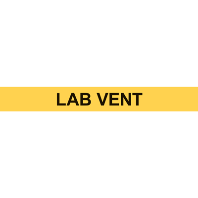 LAB VENT PIPE MARKER