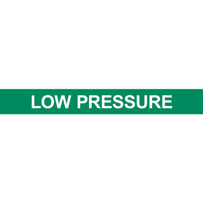 LOW PRESSURE PIPE MARKER
