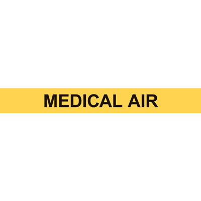 MEDICAL AIR PIPE MARKER