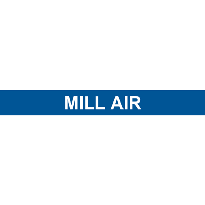 MILL AIR PIPE MARKER