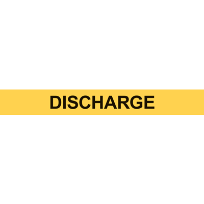 DISCHARGE PIPE MARKER