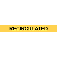 RECIRCULATED PIPE MARKER