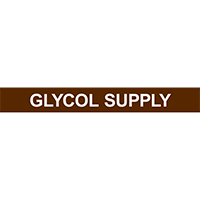 GLYCOL SUPPLY PIPE MARKER