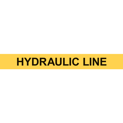 HYDRAULIC LINE PIPE MARKER