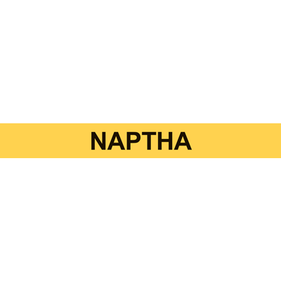 NAPTHA PIPE MARKER