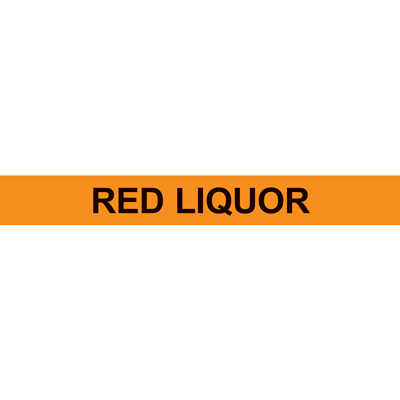 RED LIQUOR PIPE MARKER