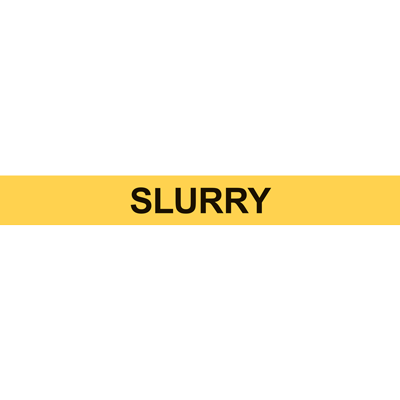 SLURRY PIPE MARKER