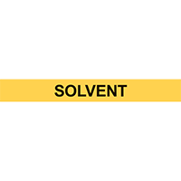SOLVENT PIPE MARKER