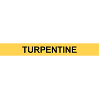 TURPENTINE PIPE MARKER