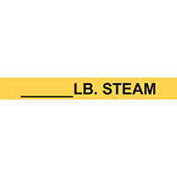 ______LB. STEAM PIPE MARKER