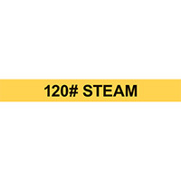 120# STEAM PIPE MARKER