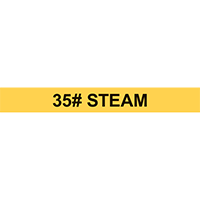 35# STEAM PIPE MARKER
