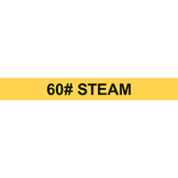 60# STEAM PIPE MARKER