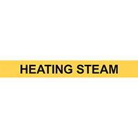 HEATING STEAM PIPE MARKER