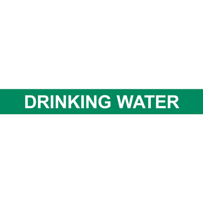 DRINKING WATER PIPE MARKER