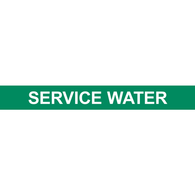 SERVICE WATER PIPE MARKER