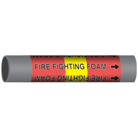 FIRE FIGHTING FOAM Marine Pipe Marker