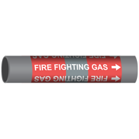 FIRE FIGHTING GAS Marine Pipe Marker