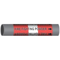 FIRE FIGHTING POWDER Marine Pipe Marker