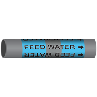 FEED WATER Marine Pipe Marker