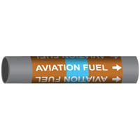 AVIATION FUEL Marine Pipe Marker